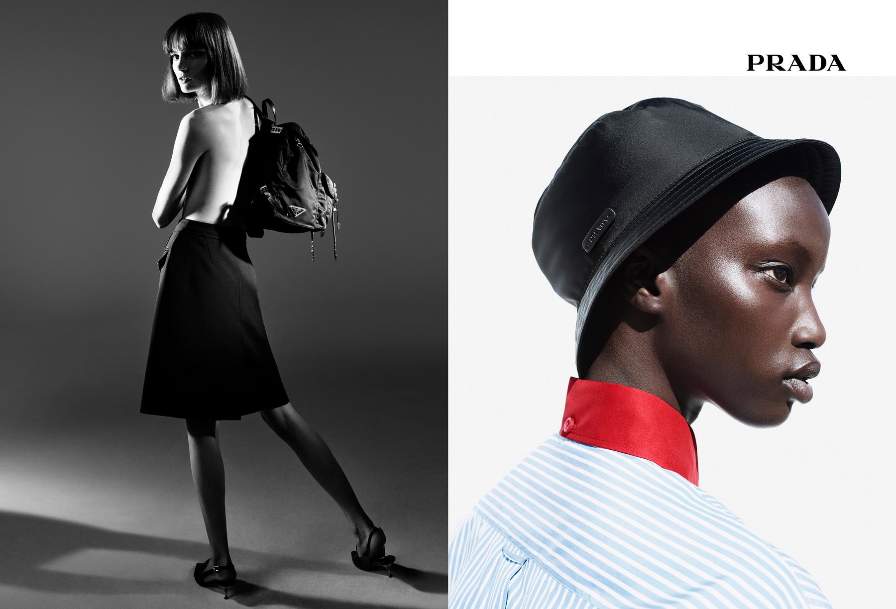 eb0aa337ecfd7f Black Nylon Prada Spring Summer 18 - Black Magazine NZ